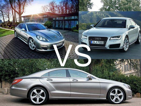 Mercedes CLS VS Audi A7 Sportback VS Porsche Panamera