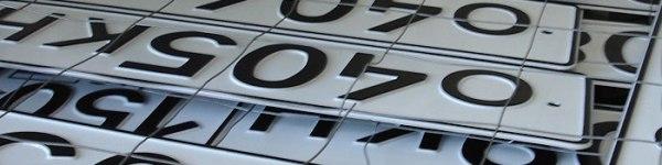 Факт №9: Почему на российских автомобильных номерах используется только 12 букв?