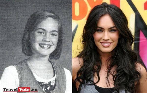 Меган Фокс в детстве!