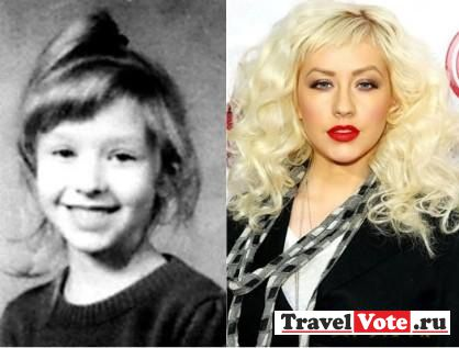Кристина Агилера в детстве!
