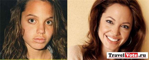 Анджелина Джоли в детстве!