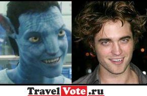 Забавные сходства вампиров!