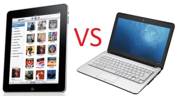 Ноутбук против планшетника!
